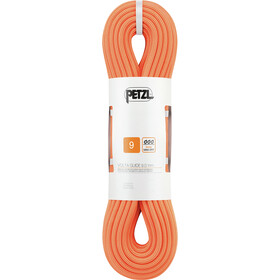 Petzl Volta Guide Corde 9,0mm x 40m, orange